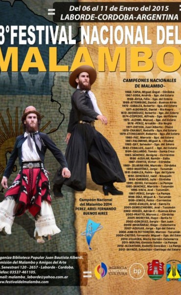 Comienza el 48º Festival Nacional del Malambo Laborde 2015