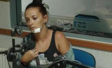 Una mujer fue agredida por personal policial