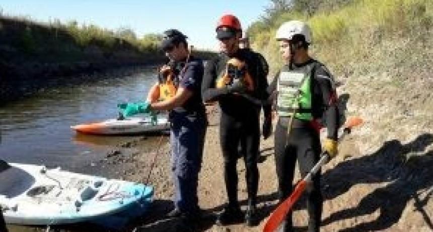 Hallazgo de un cuerpo sin vida en el Arroyo Tortugas