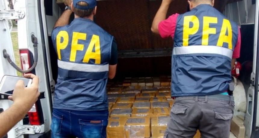 Millonario secuestro: 400 kilos de cocaína en Sinsacate