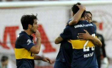 Boca le ganó a Huracán y es nuevo líder de Primera