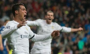 Con tres goles de Cristiano, el Madrid avanzó a semifinales