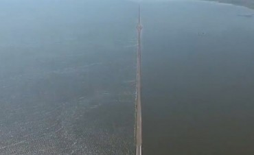 Se agrava la situación en La Picasa y el agua ya cubrió la ruta nacional 7