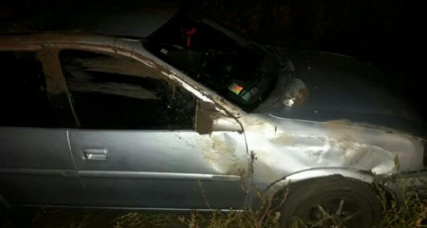 Automovilista despistó en cercanías a Justiniano Posse