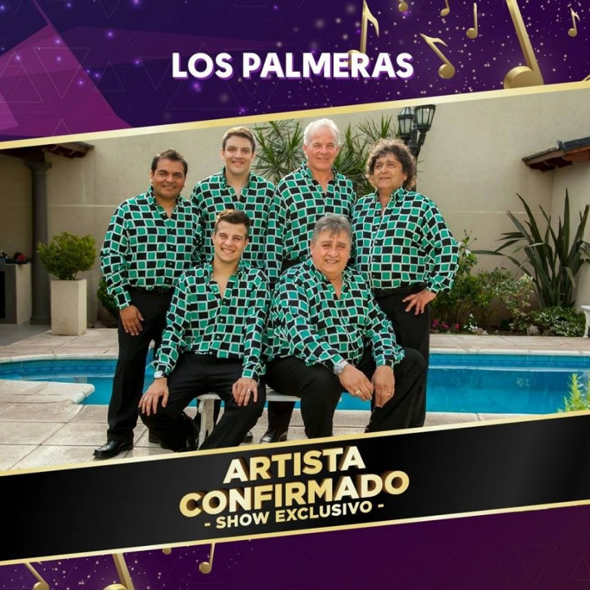 Los Palmeras artista confirmado para la noche Final de El Gauchito