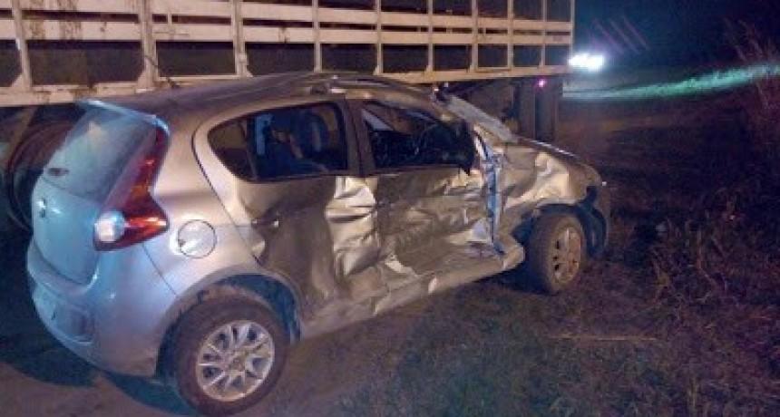 Otro choque fatal en ruta 8: murió una mujer en Las Acequias