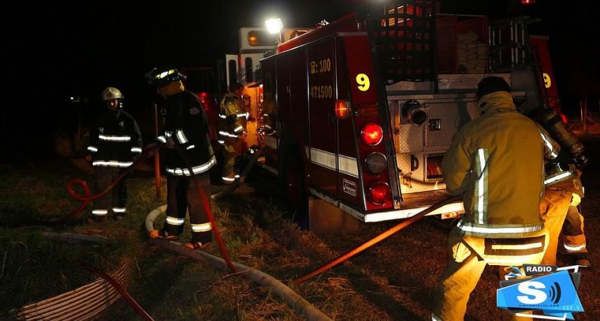 Se incendió jaula con gallinas en el complejo ecológico, varios animales muertos