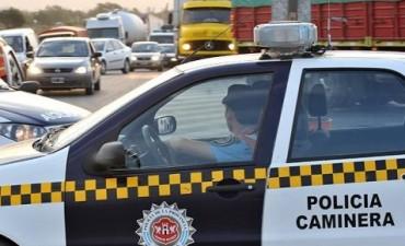 """Más de 4.600 multas de la Caminera en el """"finde"""""""