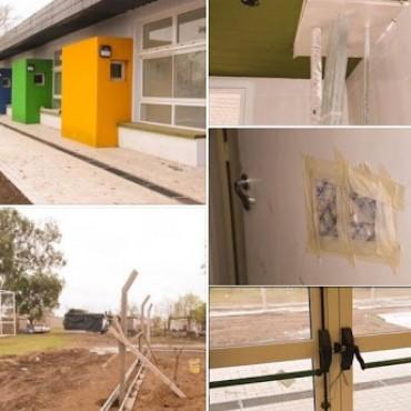 LEONES: Robo y destrozos en el nuevo Jardín Maternal Municipal