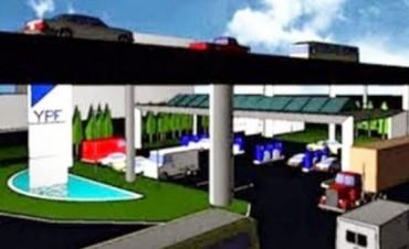 La estación de servicios más grande del país en siete meses estarìa terminada