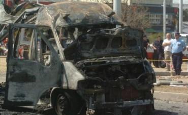 Explosión ambulancia del 107: piden condenar a 6 imputados