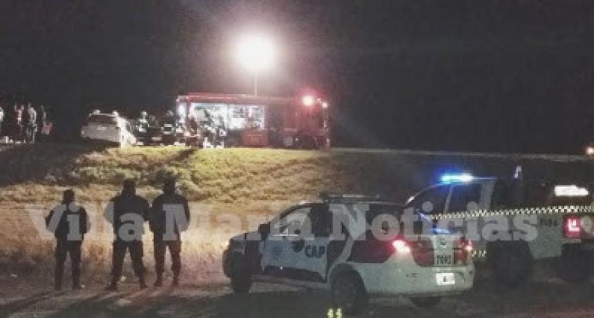 VILLA MARÍA: Un muerto en el accidente de la Autopista Córdoba-Rosario