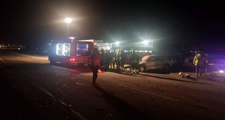 Fatal accidente en cercanías a Villa María, un persona muerta