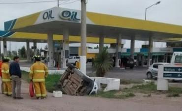 ACCIDENTE EN MONTE BUEY