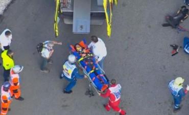 El hijo de Sainz asustó a todos en la Fórmula 1