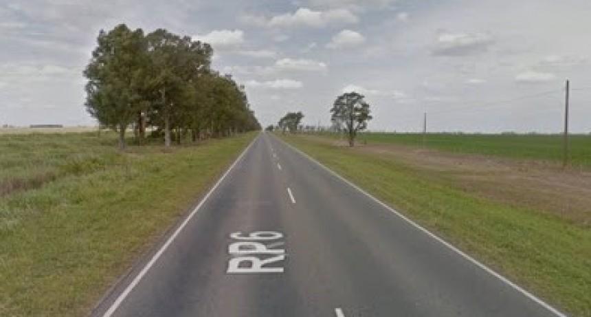 Justiniano Posse: Un motociclista cayó en la ruta y fue derivado a Bell Ville