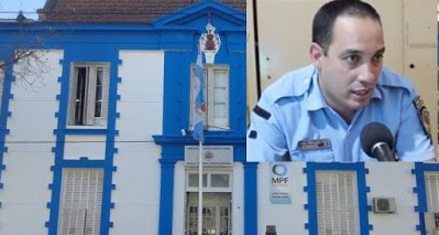 Novedades policiales de relevancia del fin de semana en la Departamental