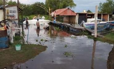 Más de 20 mil evacuados en el Litoral por crecidas y lluvias