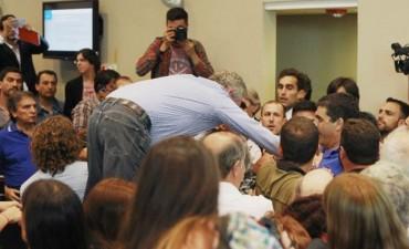 Hubo incidentes en el Congreso por el debate de la Reforma Previsional