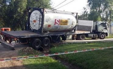 Cañada de Gómez: alerta por derrame de líquido contaminante