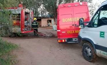 Se entregó el hombre que era buscado por incendiar su propia casa