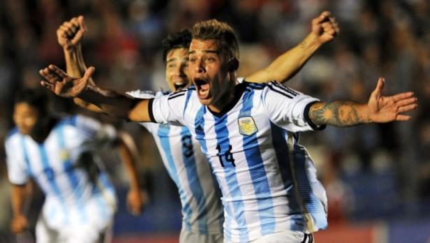 Argentina rescató un punto ante Colombia sobre el final
