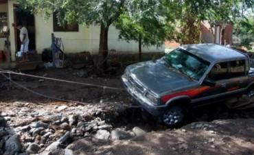 Fuertes lluvias complicaron a Calamuchita y Tercero Arriba