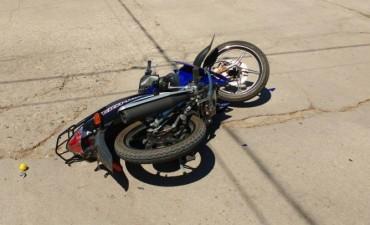 Accidente Fatal en Laborde, joven muere al chocar con la moto