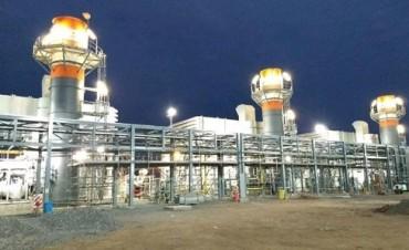Comenzó generar energía la planta termoeléctrica del Parque Industrial