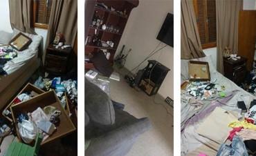 Ladrones robaron viviendas en el Parque Norte