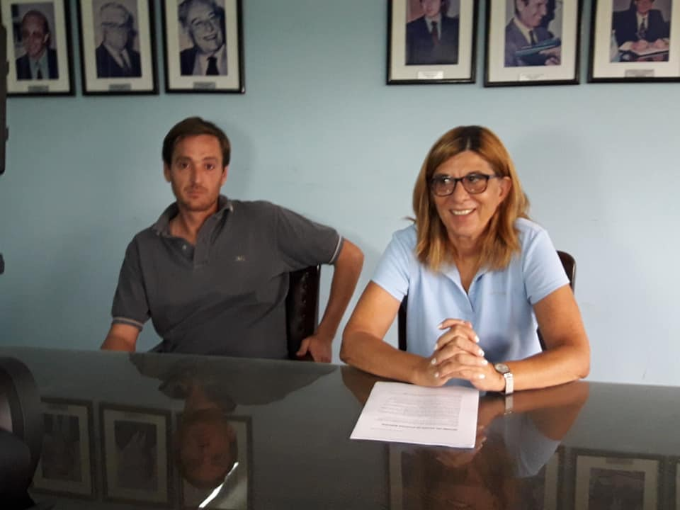 Conferencia de prensa de la Dra Patricia Delsoglio