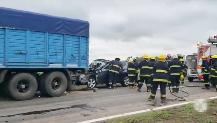 ACCIDENTE FATAL EN LA RUTA N° 15