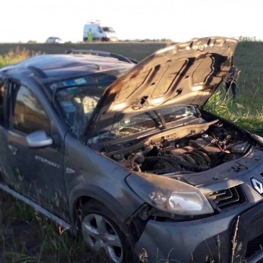 General Roca : Un menor falleció tras un vuelco en Autopista