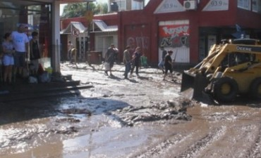 Casi 1.700 casas dañadas por el temporal en Sierras Chicas