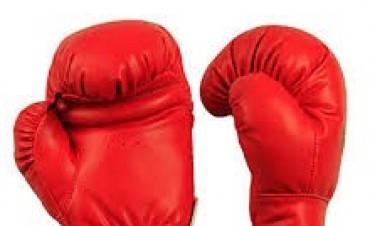 Boxeo en la Federación Argentina con Joaquín Lingua.-