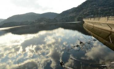 Abrieron las válvulas del dique La Quebrada