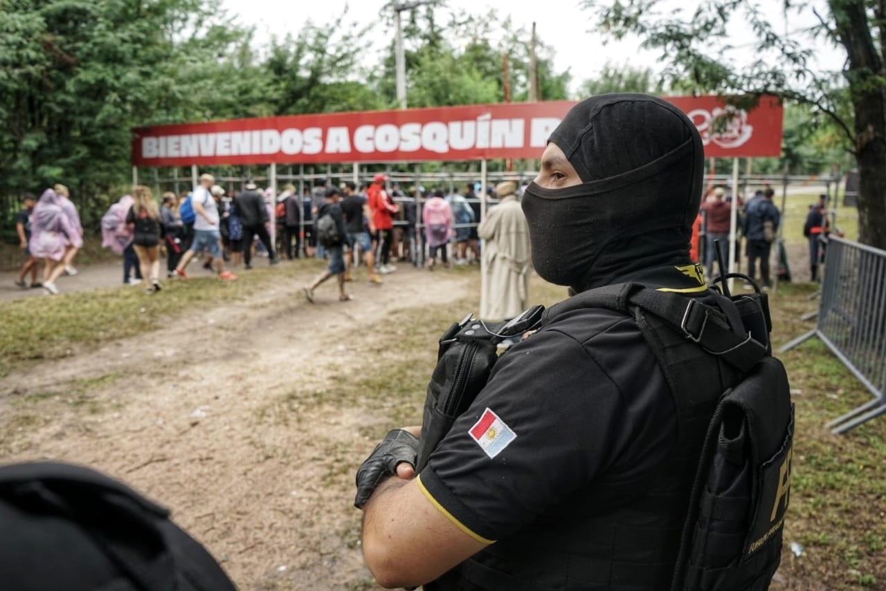 FPA - 6 detenidos por drogas y 183 procedimientos con secuestro de estupefacientes en el Cosquín Rock 2020
