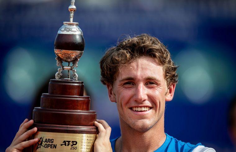 El noruego Casper Ruud barrió a Sousa y se coronó campeón