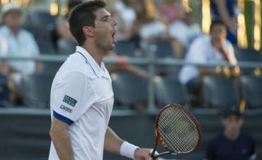 Copa Davis Delbonis le ganaba a Bellucci y se suspendió