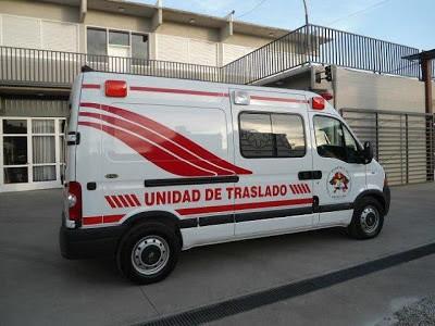 ACCIDENTE DE UNA MOTO CON DOS OCUPANTES EN RUTA 9