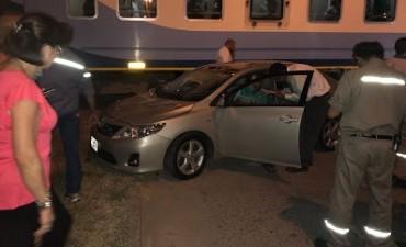 MARCOS JUAREZ: Choque entre tren y automóvil