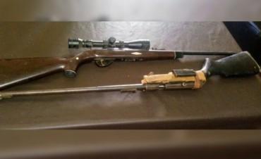 Allanaron una finca en Luca dónde vendían armas ilegalmente