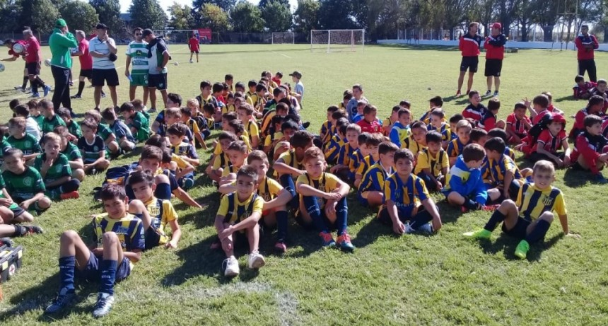 Torneo de futbol infantil Leonardo Quiligotti