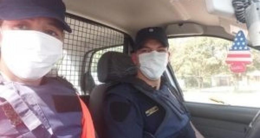 Continúan las detenciones en la Departamental por incumplimiento del aislamiento social obligatorio