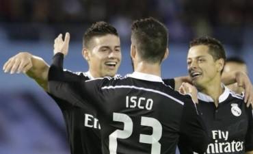 Real Madrid se sacó de encima a un rival difícil en un partidazo