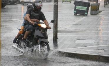 Alerta por fuertes lluvias en el noroeste del país