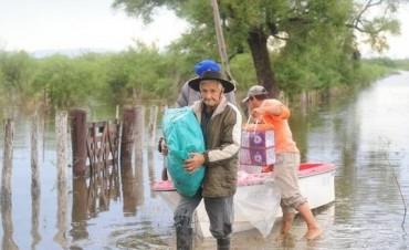 Siguen las lluvias en el Litoral y ya hay más de 17.000 evacuados