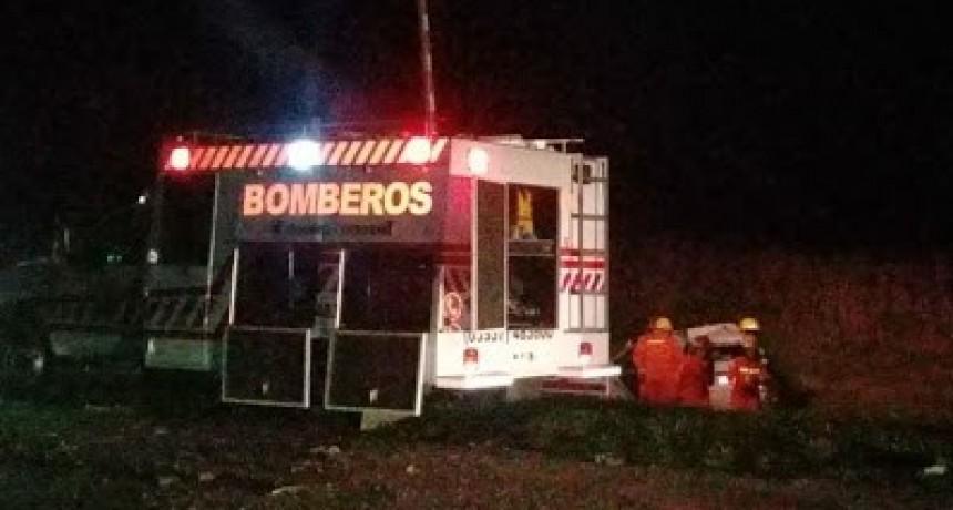 Accidente de tránsito fatal entre Ordóñez e Idiazabal