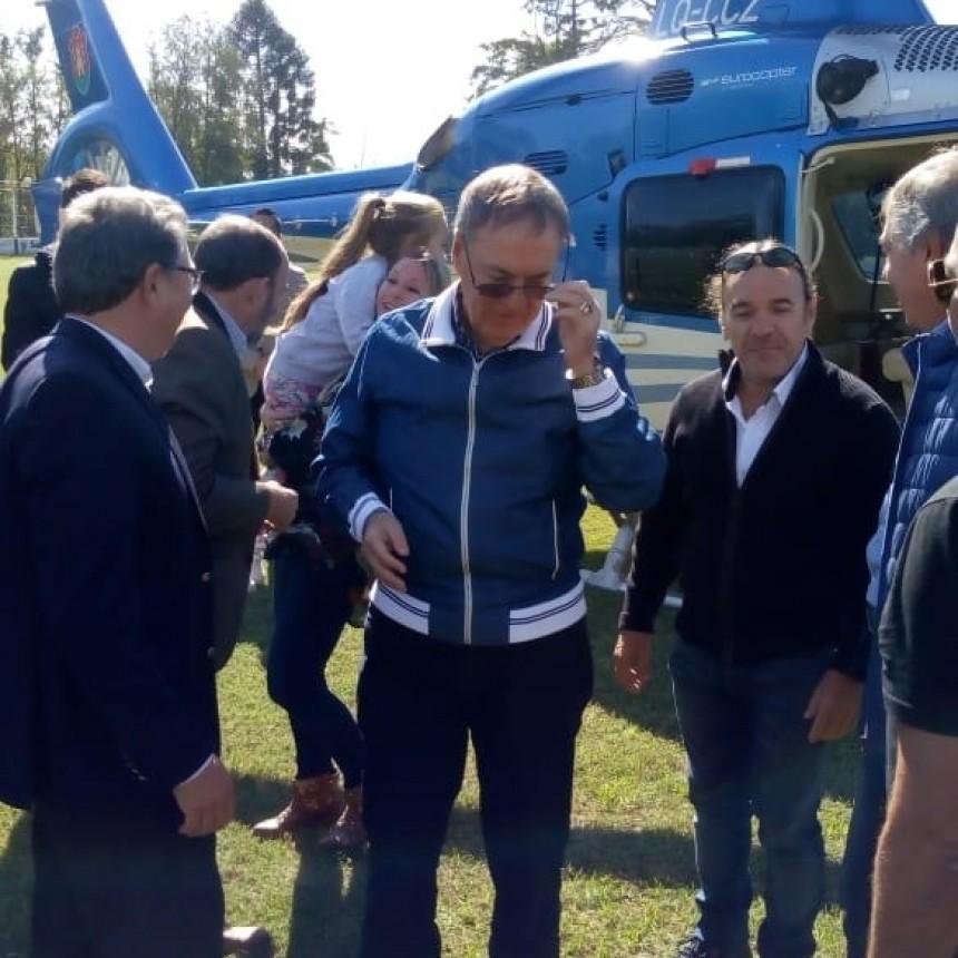 Gobernador Juan Schiaretti en Baldissera