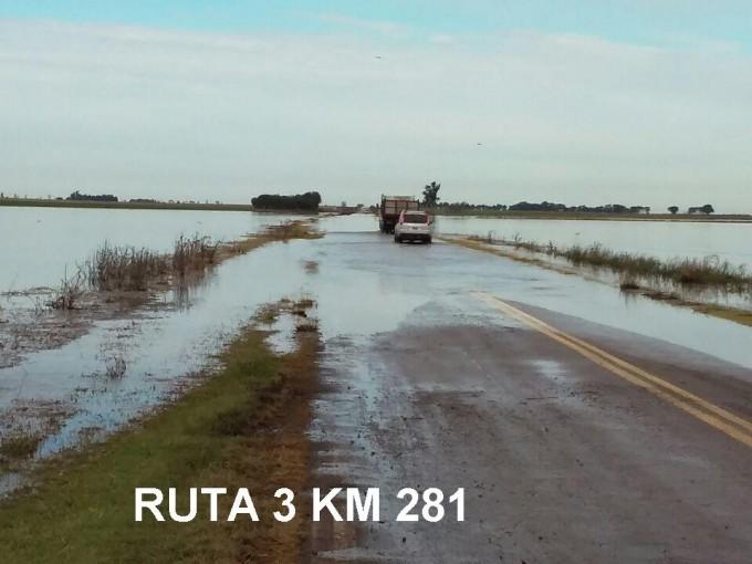 CORTE TOTAL RUTA 3 ENTRE ESCALANTE Y CANALS
